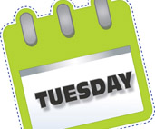 Tuesday clipart