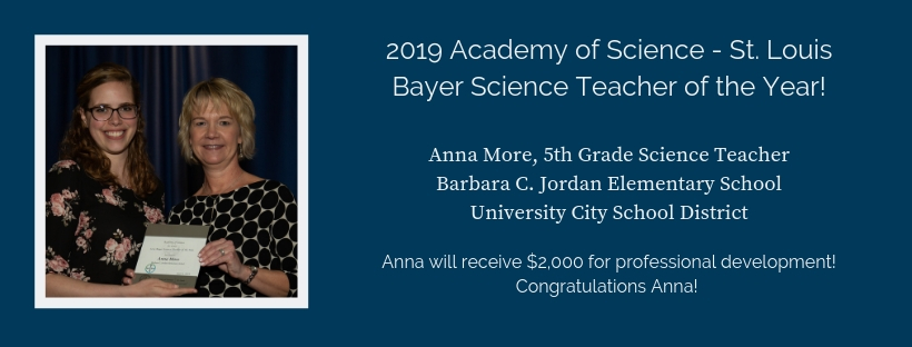 2019 Science teacher of the Year